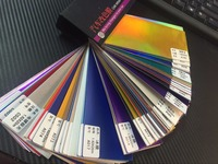 1PCS SAMPLE BOOK FOR CAR WRAPPING FILM CAR VINYL STICKER SAMPLE BOOK FOR 1PCS