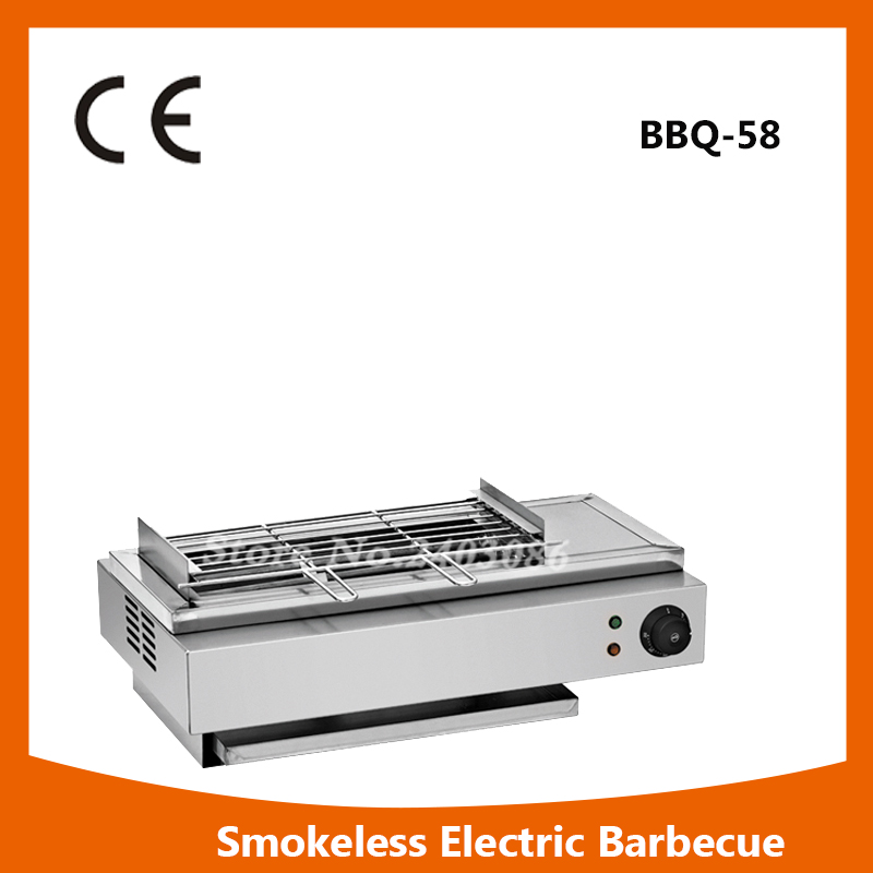 Фото commercial table counter top stainless steel electric Smokeless bbq Grill for home appliance
