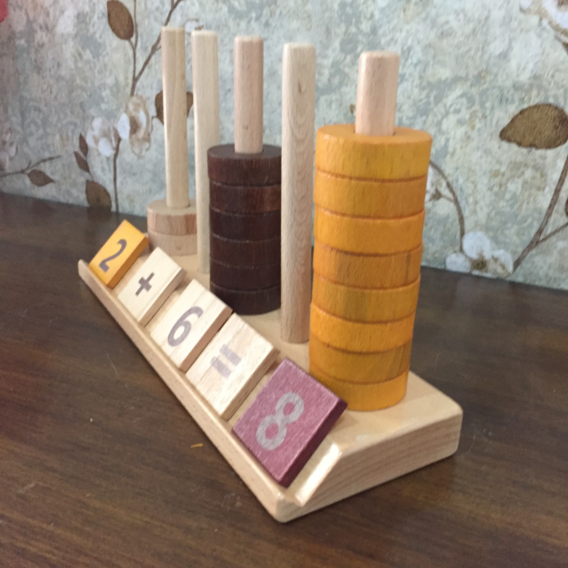 Novos Brinquedos Do Bebê De Madeira Montessori