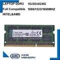 Новый Бренд Опечатаны DDR3 1066 МГц/1333 МГц/1600 МГц 2 ГБ/4 ГБ/8 ГБ 204-контактный SODIMM Memoria Оперативной Памяти Для Ноутбука