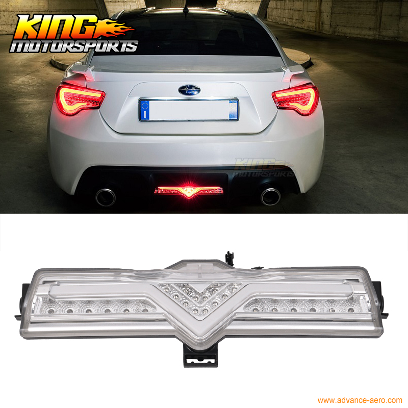 Fit For Clear Led Rear Bumper Backup Reverse Light 3rd