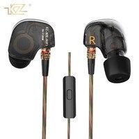 KZ Brand Sport Running Earphones HIFI Earphone Super Bass Stereo Headset Noise Canceling With Mic Earbuds