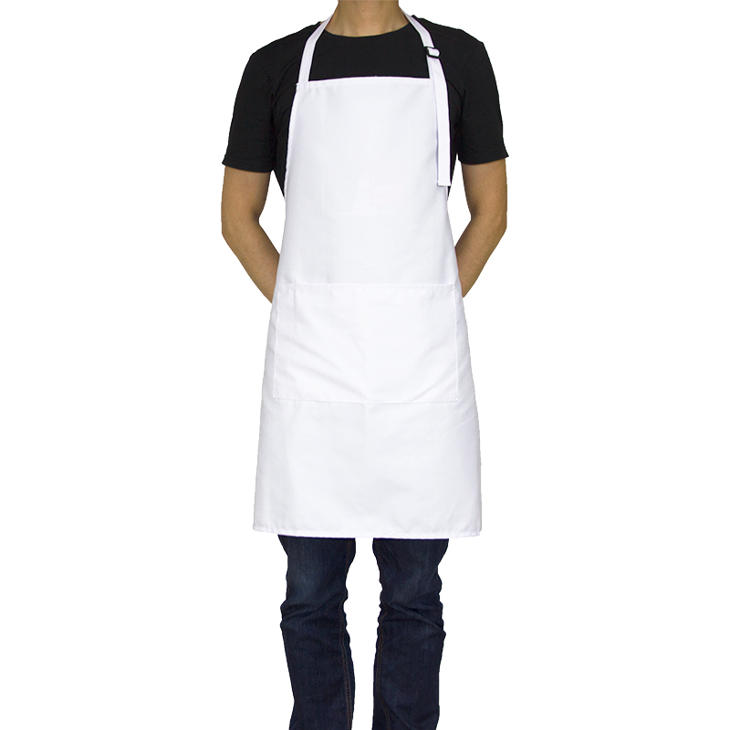 KEFEI New Lady Women White Apron manufacturer cleanroom chef apron pattern cotton kitchen apron custom pinafore