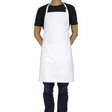 KEFEI Новый Леди Для женщин белый фартук производитель чистящих поварский фартук узор Кухонный Фартук из хлопка пользовательские Сарафан