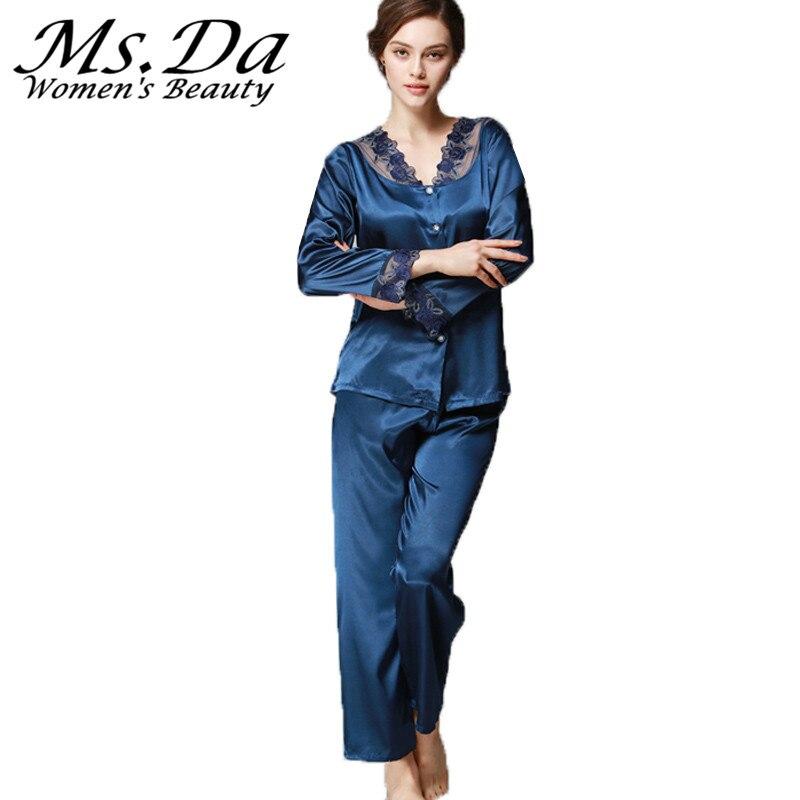 Popular Vintage Silk Pajamas-Buy Cheap Vintage Silk Pajamas lots ...