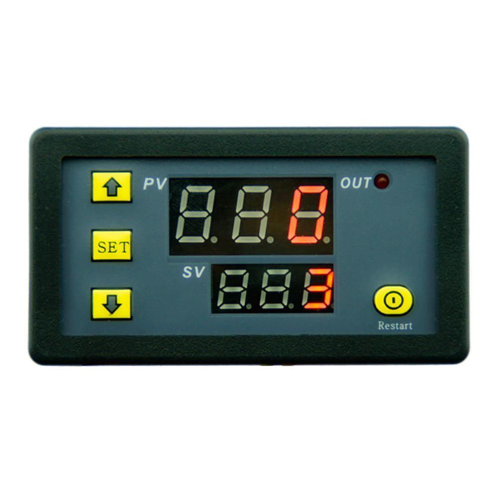 Hot!2018 New DC12V 1500W 0-999H Digital Display Time Delay Relay Timing Cycling Module Mar29 led digital display circle delay time relay module time adjustable blue 12v