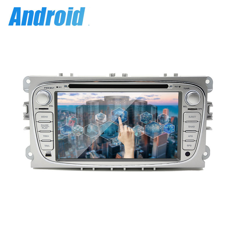 4 Core 1G RAM <font><b>2Din</b></font> <font><b>Android</b></font> 9.0 auto DVD player für <font><b>ford</b></font>/mondeo/s-max/c -max/galaxy/focus Audio Radio Stereo GPS Navigation 4G image