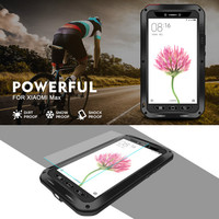 Love Mei Powerful For Xiaomi Max Armored Hybrid Cover Case Waterproof Case Fundas Housing Water Dirt