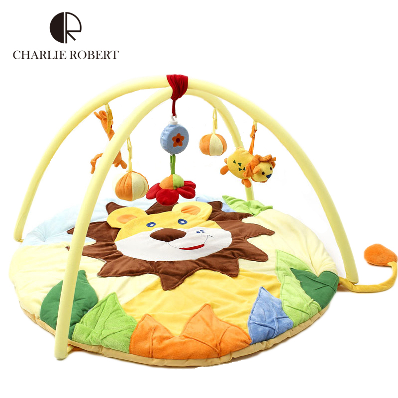Mother & Kids Baby Gyms & Playmats Baby Play Mat 0-12 Months Baby Soft Gym Blanket Crawling Toy Kids Rug Floor Mat Boy Girl Carpet Game Mat For Children Education Excellent Quality