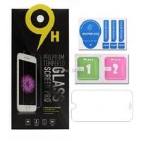 100 protectores de pantalla de vidrio templado para iPhone X 8 para Iphone 8 plus 7S Film 0,3mm 2.5D 9H paquete de papel Anti-rotura