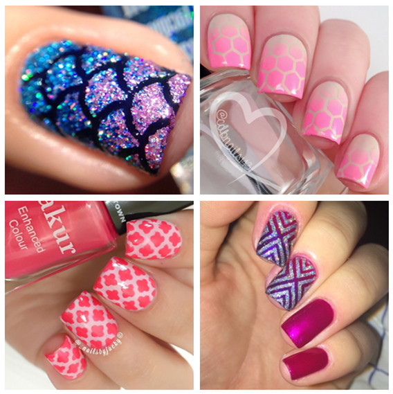Nail art guides images nail art and nail design ideas aliexpress buy new easy use nail art stamping stencils aliexpress buy new easy use nail art prinsesfo Choice Image
