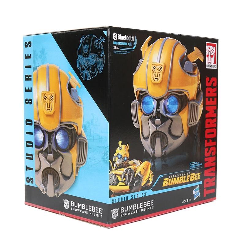 Transformers Studio Series Bumblebee Movie Showcase Helmet Hasbro Halloween Mask