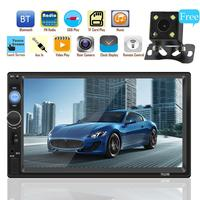 7 Inch Bluetooth Touch Screen MP5 Card Machine 2 Din Car Stereo Radio Car Reversing Monitor Car Multimedia Player