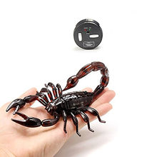 New Fun High Simulation Animal Scorpion Infrared Remote Control Kids Toy Gift High Quality Drop Shipping(China)