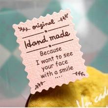 Купить онлайн 120 шт./лот Новый высокое качество тиснением розовый ручной работы DIY Многофункциональный печать Стикеры подарочная упаковка этикетка