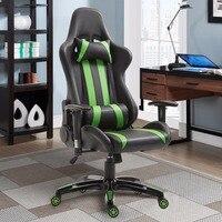 Giantex гоночный стиль высокий задний игровой стул кресло офисный компьютер офисная мебель HW59418GN