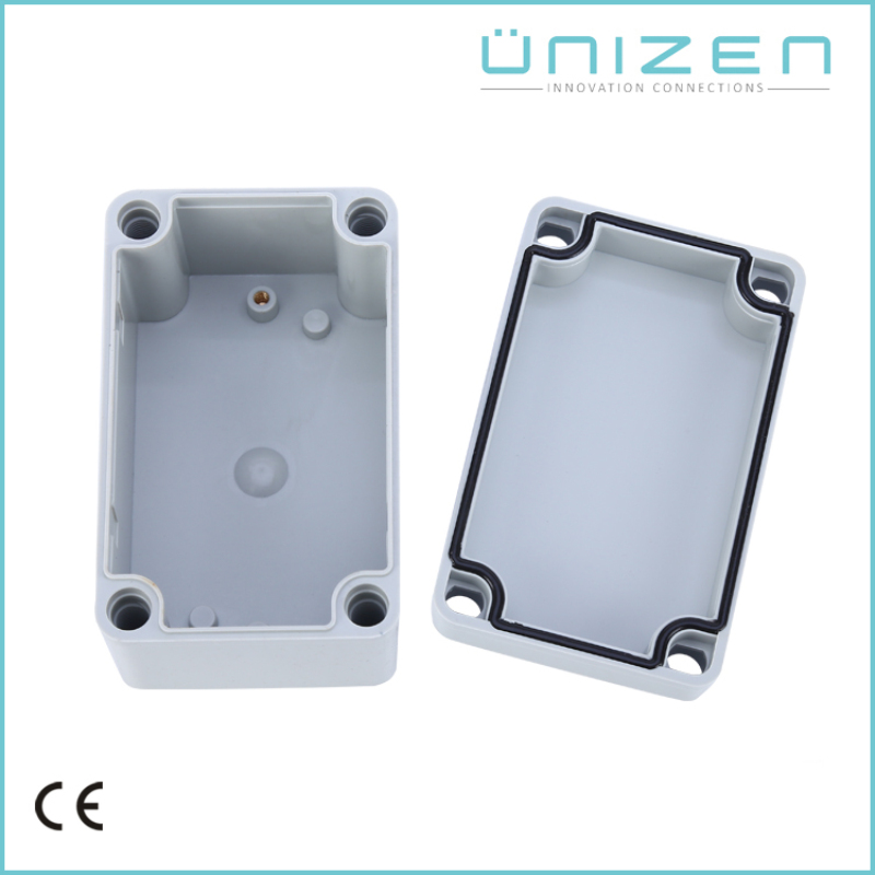 UNIZEN AG-0813 Waterproof Plastic Enclosure Box Electronic Project Instrument Case Outdoor Junction Box 130x80x70mm Connector eglo connector box 91207