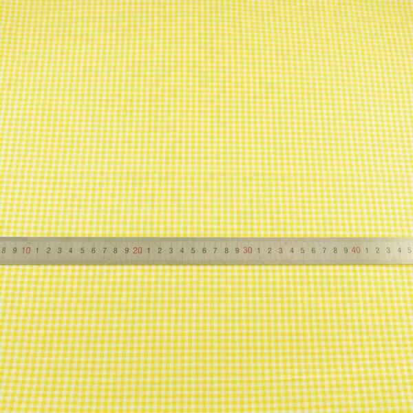 Booksew nowy złoty żółty i biały sprawdź projekt 100% bawełna metr tkaniny do szycia materiał telas de algodon para patchwork
