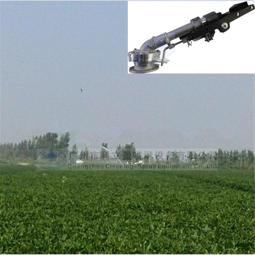 SG80-24 большой пистолет-разбрызгиватель дождя для орошения и подавления пыли