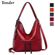 4724779323 Yonder genuine leather handbag for women shoulder bag female large tote  hand bags hobo ladies crossbody