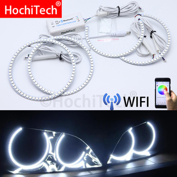 Wifi Wireless RGB Multi-Color LED Angel Eye Halo Rings Day Light for LEXUS IS200 IS300 1998 1999 2000 2001 2002 2003 2004 2005