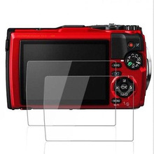 ФОТО  Optical Tempered Glass LCD Screen Protector Olympus TG-5 Camera Anti-scratch