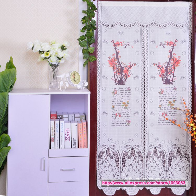 Chinese Style Classical Plum Flower Curtain Decoration