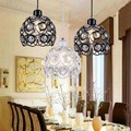 Led Modern Minimalist Restaurant Chandelier Crystal Chandeliers Three/Single Head Personalized Dining Table Bedroom Bar art Lamp