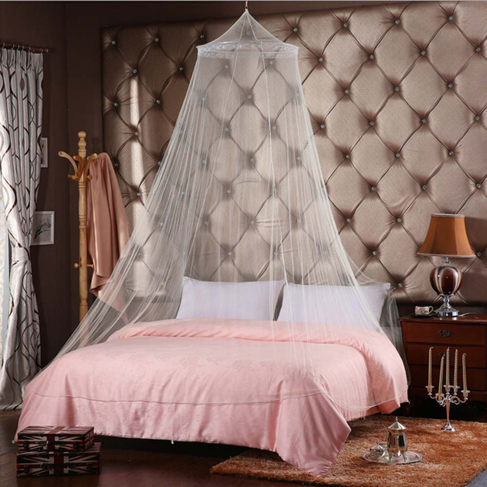 Baby Bed Mosquito Net Kids Bedding Round Dome Hanging Bed Canopy Curtain Chlildren Room Decoration Crib Netting Tent 6 Style To Prevent And Cure Diseases Mother & Kids Baby Bedding