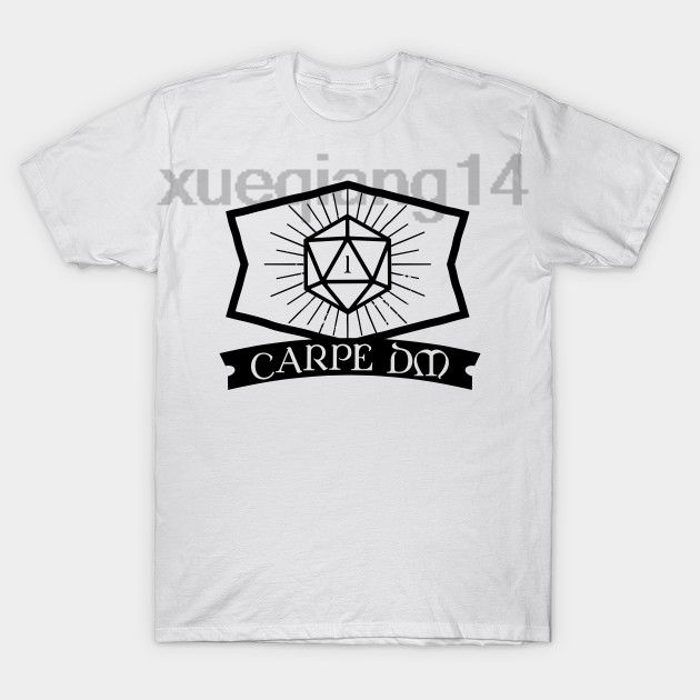 204abbaf7 Carpe DM D20 Dice DnD RPG T Shirt-in T-Shirts from Men's Clothing on ...