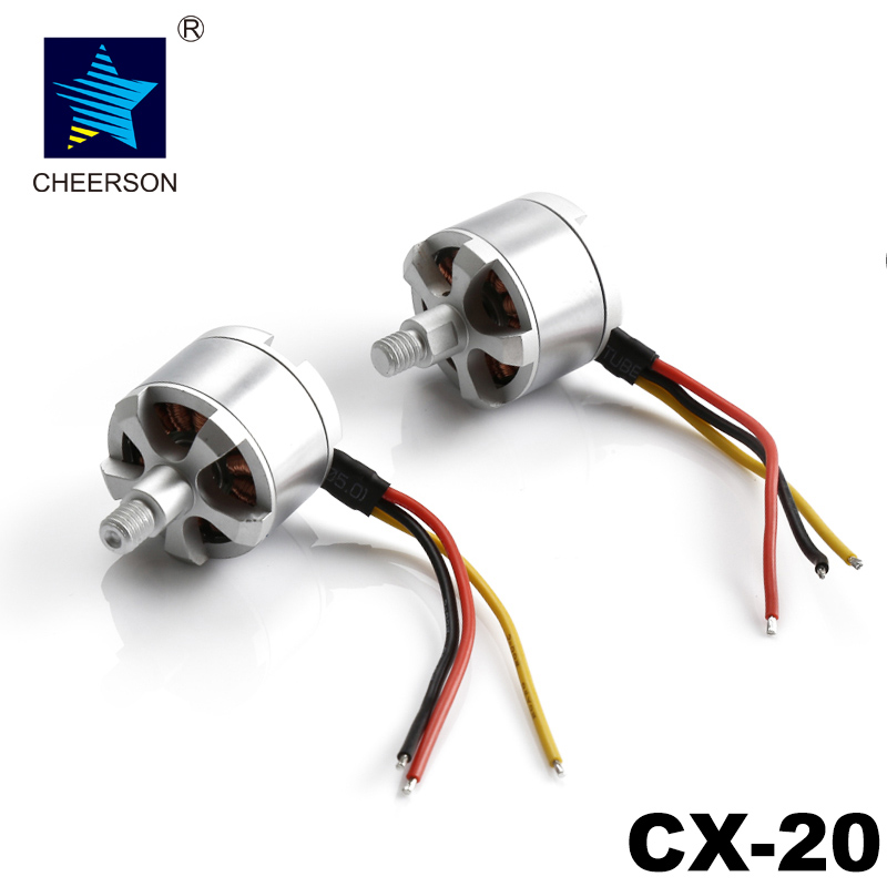Cheerson CX-20 RC Quadcopter Spare Parts CX-20 Brushless Motor CW and CCW For CX-20 RC Drone free shipping oem brushless motor rc quadcopter cw ccw parts without silver black cap for cheerson quadcopter cx20 cx 20