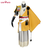 Kogitsunemaru Cosplay Touken Ranbu Online Yellow Polyester Kimono Uwowo Costume