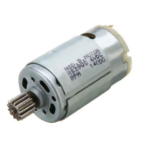 New RS390 Kid Car Motor 6V 14000RPM Electric Motor For Kid Ride On Car Bike Toy Gear Box Motor 70x28mm Islamabad