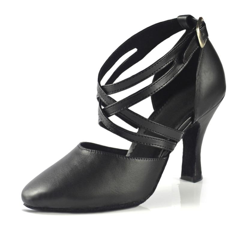 Nuevo 2019 Zapato de mujer en zapatos de baile de cuero Zapato de - Zapatillas - foto 5
