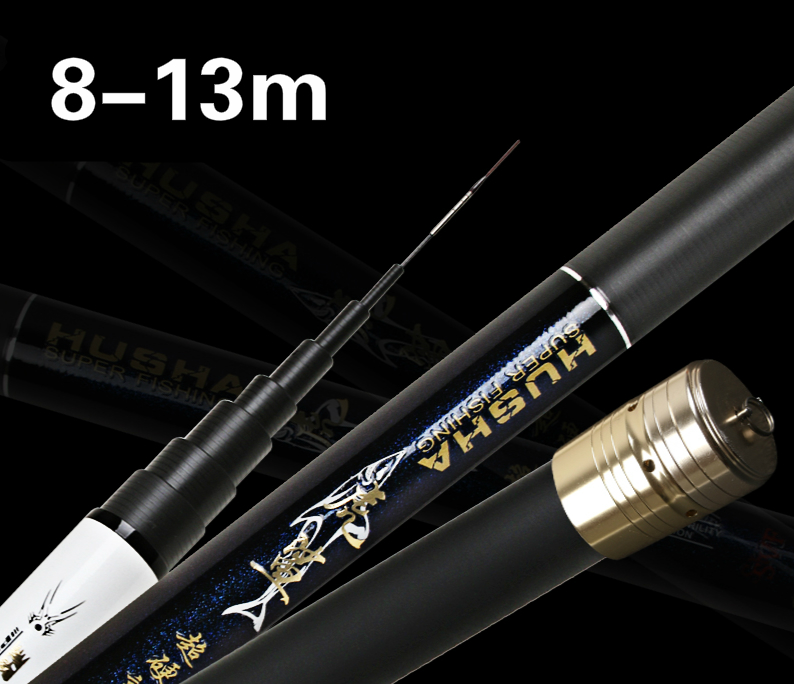 Super Hard Long Fishing Rod 8/10/11/12/13m Ultra Light Ultra High Carbon Hand Rod Telescopic River Stream Fishing Rod Cane hot selling 1 pcs lot ultra light long hard carbon rod 8 9 10 11 12 m river stream pond lake fishing rod hand rod