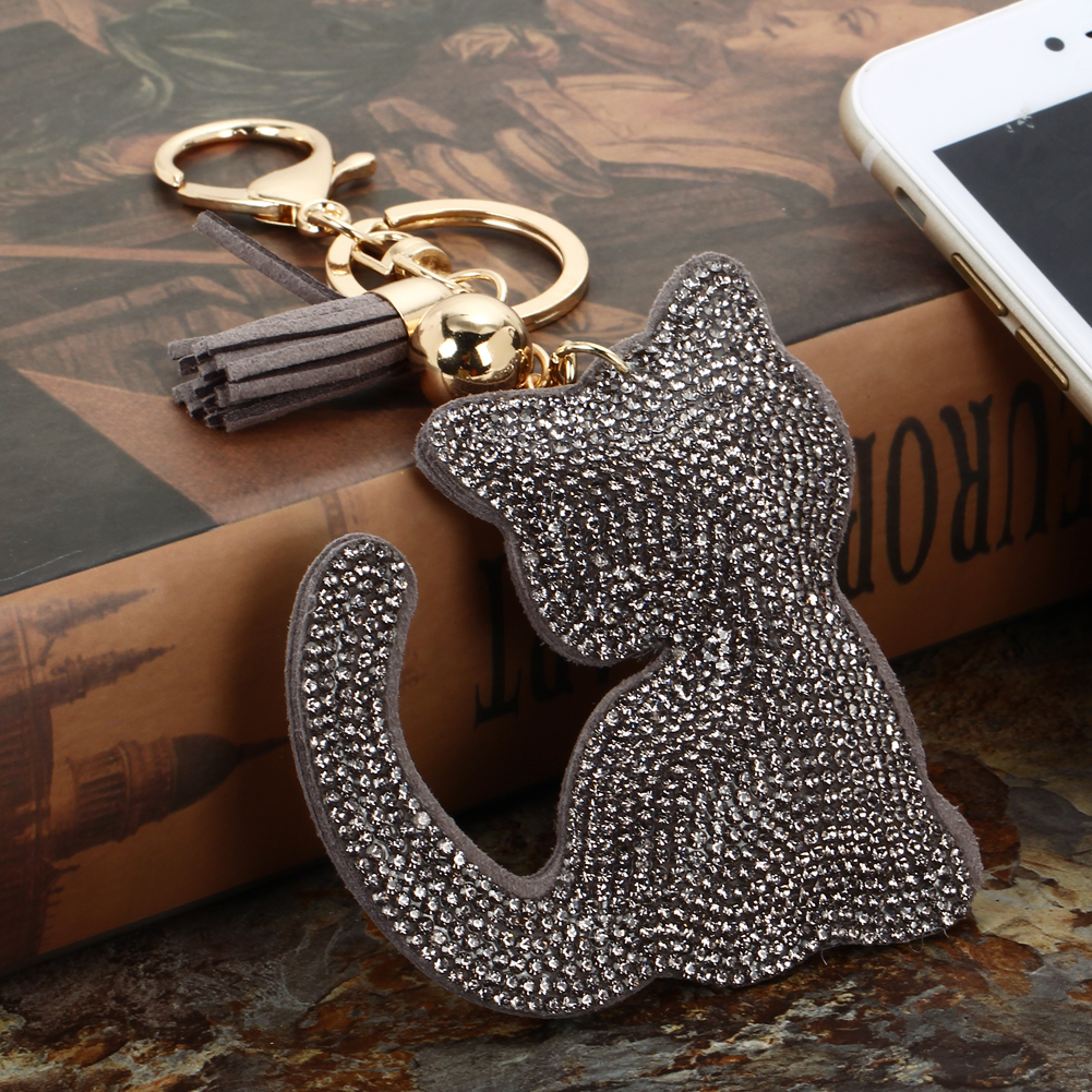 Fashion Cat Keychain