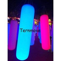 Oświetlenie LED nadmuchiwane promocyjne filar taśmy led balon worek z piaskiem kształt balonu nadmuchiwane oświetlenie filar kolumna