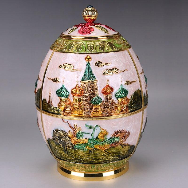 Velká taška na čajové sáčky dárkové plechovky z vysoce kvalitního čajového čaje barel barel pečeť krabice evropského stylu dekorace