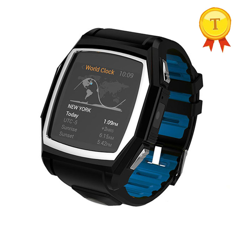 best selling Bluetooth Smart Watch Sports smart Phone Watch Heart Rate mornitor SOS GPS wristwatch for man for samsung s8 s7 s6 android smart watch mobile phone bluetooth 2 0 screen 2 0 mp wifi gps for samsung galaxy s8 s7 s7 edge s6 s6 edge s5 note 5 4