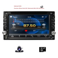 Hizpo 6.2Car Head Unit For Nisson xtrail Juke qashqai Multimedia 2din AutoradioCar Audio Universal Tape Recorder DVD Player GPS