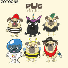 ZOTOONE Cartoon Animal Patch Iron on Clothes A-Level Washable 2018 New Parches Ropa T-Shirt Diy Decoration Appliqued Irons F