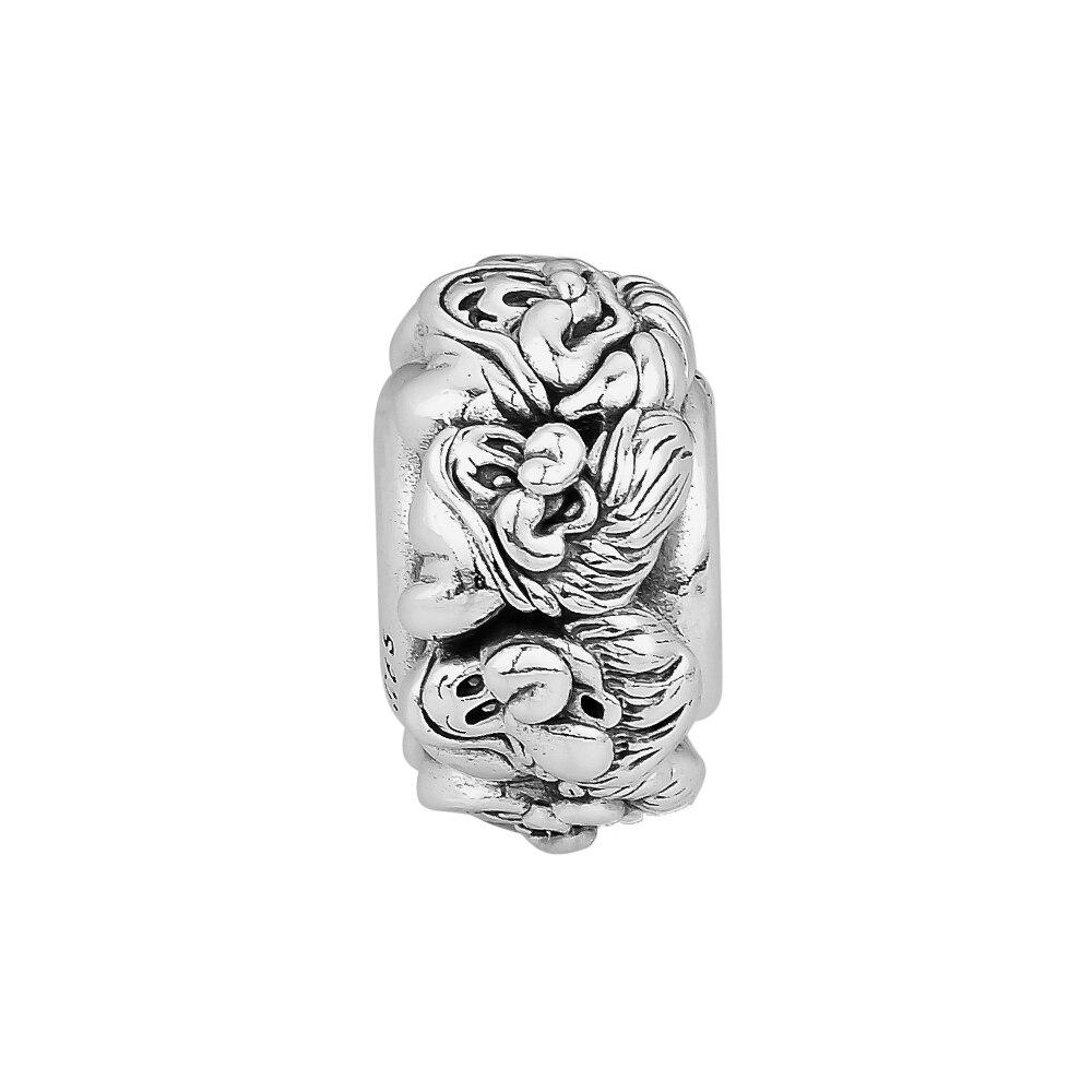 Ckk 925 Ayar Gümüş Yedi Cüceler Tüm Etrafında Spacer Göz Alıcı