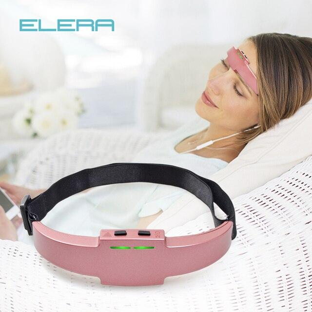 ELERA Электрический массажер для головы монитор апноэ сна облегчение мигрени массажер бессонница терапия антистресс/тревога/расслабляющий массажер