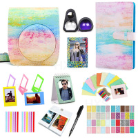 5 Color Camera Accessory Set for Fujifilm Instax Mini 90 Instant Film Camera, Including Carry Bag/Photo Album/Stickers/Lens etc