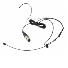 Black Double Hook headset mic For AKG Shure Sennheiser SAMSON Wireless mike system mini 3pin 4pin