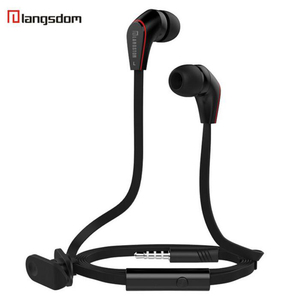 Image 2 - Langsdom Mini New wired in ear Earphone JM12 for music gaming sport portable headset super bass stereo earphones with microphone
