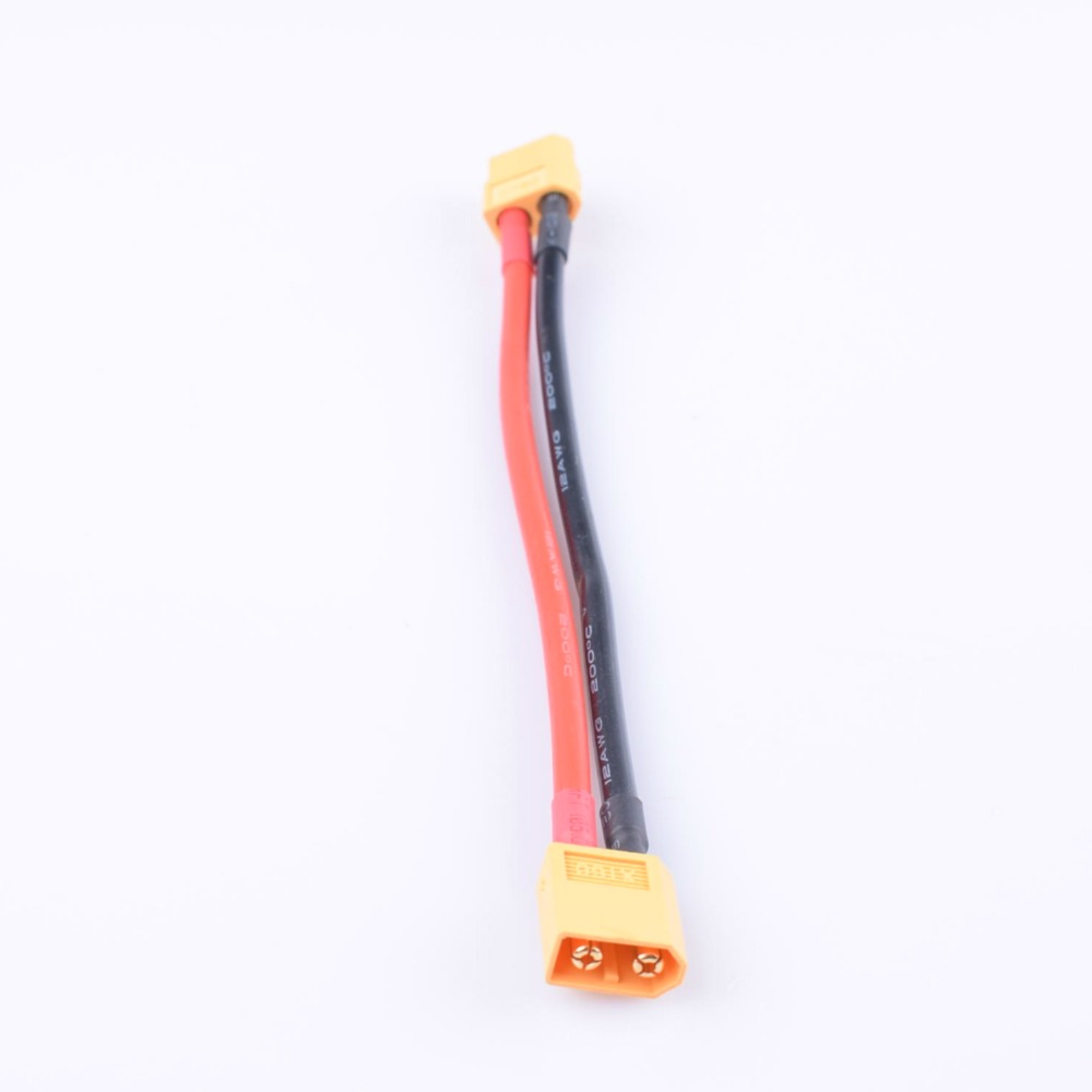 Yellow Black Blue Color XT60 3.5MM  Gold Plug  Extension Cable With 12AWG Nano Tech Battery  Adpater  For Battery,Charger,Motor,