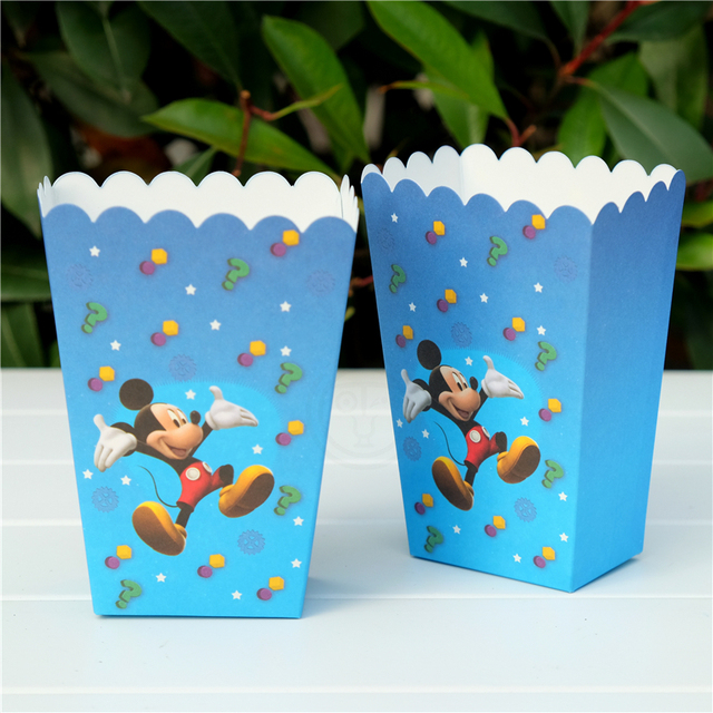 יום הולדת מיקי מאוס שקיות הפתעה קופסאות מעוצבות מיקי-מאוס להזמנה לייף-דיזיין פופקורן