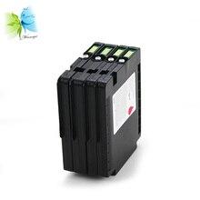 Winnerjet 5 sets pigmented gel GC21 ink cartridge for Ricoh Aficio GX 2500 3000 3000S 3000SF 3050N 3050SFN 5050N 5050 7000