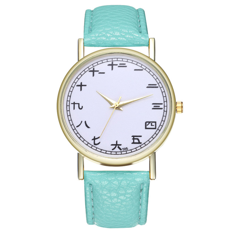 FUNIQUE Creative Watch Women Watch Student Quartz Analog Chinese - Dameure - Foto 5